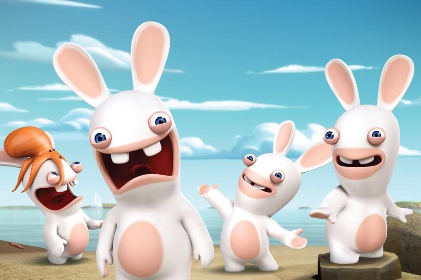 raving-rabbids-invasion-nickelodeon-ubisoft-nicktoons-nicktoon-animation-characters-cast-group_press-nick